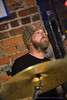 Todd Bragg on drums for Matthew Perryman Jones performing at the Evening Muse in Charlotte, NC - April 21st, 2010