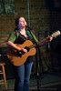 Sara Scott performing at the Sound Of Charlotte show held at the Evening Muse and organized by Emily Sadler - Jan 27th, 2010