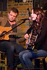 Very talented duo Shelli & Seth performing at the monthly Tosco House Party @ the intimate Evening Muse January 6th, 2010