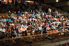 The audience gathers at the sold-out TMP Beatles Tribute Night in Charlotte's Knight Theatre - June 5th, 2010
