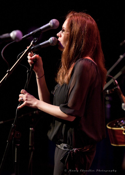 """Miranda Reger performing """"From Me To You"""" at the TMP Beatles Tribute Night in Charlotte's Knight Theatre - June 5th, 2010"""