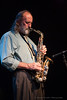 Dwayne Leonard on Sax with the ThermaTones performing at the Neighborhood Theatre August 28th, 2010