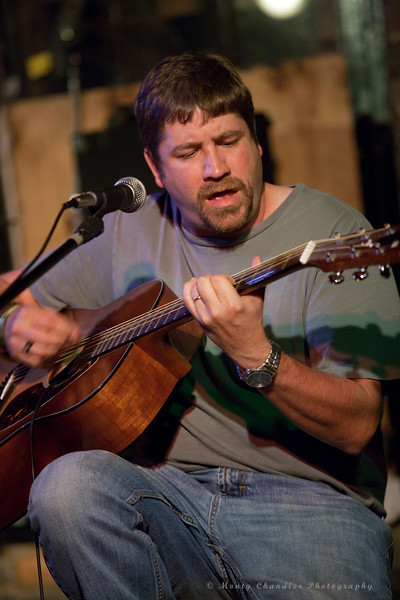 Doug Bartholomew performing at the June 2010 Tosco House Party @ the Evening Muse in Charlotte, NC