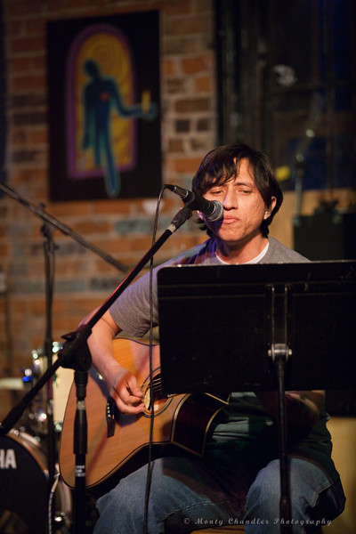 David Segovia @ the June 2010 Tosco House Party @ the Evening Muse in Charlotte, NC