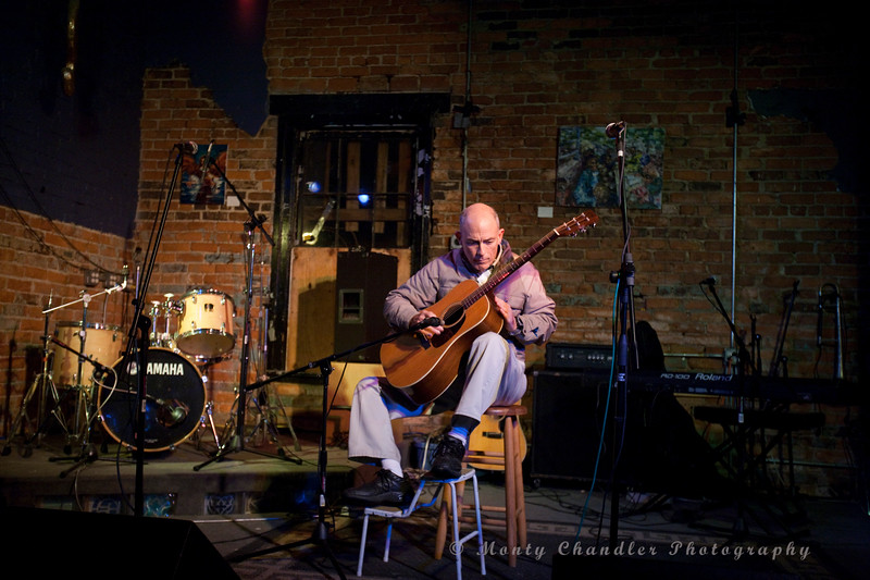 Ralph Husband performing at the Feb 2010 Tosco House Party held at the Evening Muse in Charlotte, NC