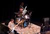 Jason Atkins, John Hogan and Phil Carias jam at the Tosco Music Party Sept 11th, 2010 at the CPCC Halton Theatre