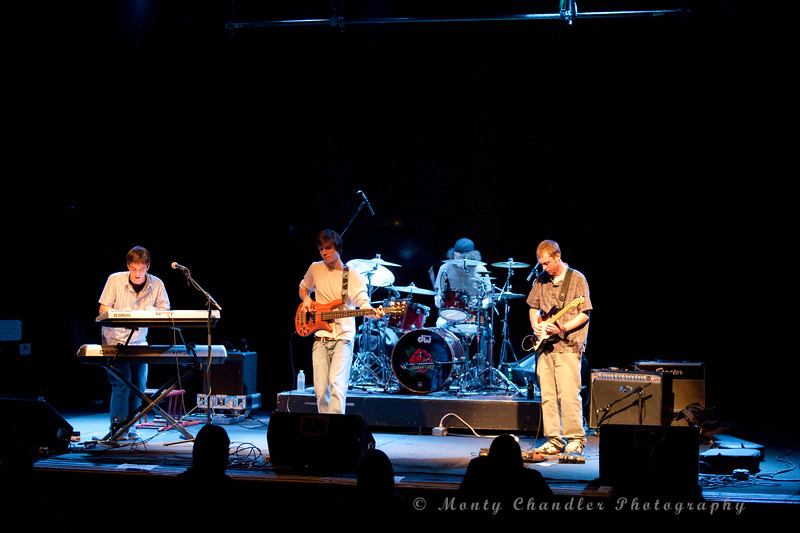 Walrus & The Carpenter performing the Haiti Relief concert at the Neighborhood Theatre in Charlotte, NC Feb 11th, 2010