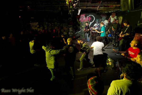 Black Dream, CHT, Jean Baudin, Jokes for Feelings@ 924 Gilman October 8, 2011