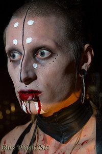 Jared Waren of Limnus before Bloodchains video shoot