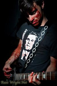 Matt, guitarist for Limnus before Bloodchains video shoot