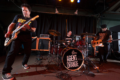 Agent Orange @ Catalyst Club, Santa Cruz. November 2012