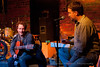 Ben Henry shares his thoughts with Jeff Hahne during an Off The Record performance and interview at the Evening Muse January 18th 2012