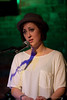 Bess Rogers performing at the Evening Muse - Feb 21, 2012