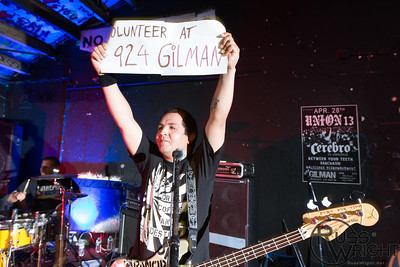 Volunteer at 924 Gilman. Berkeley, CA