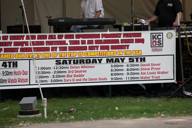11th Annual Bixby BBQ & Blues Festival - Bixby, OK - May 5th, 2012