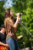 Sarah Dickenson performing at the 11th Annual Bixby BBQ & Blues Festival - Bixby, OK - May 5th, 2012