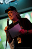 """CMA Founder Jeff Cheen delivers a few opening comments at the Charlotte Music Awards """"Women In Rock Showcase"""" held at Easy Eddie's in Huntersville, NC on July 14th, 2012"""