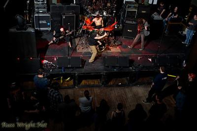 Cast Iron Crow @ Fat Cat. Modesto, California. February 23, 2012