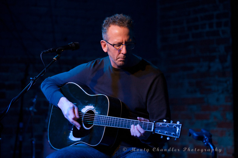 Darden Smith performing at the Evening Muse - Feb 4th, 2012