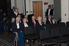 Members of The Presbyterian Home Band await the beginning of the Tosco Music Party Jan 28th, 2012 at the Halton Theatre on the CPCC central campus.