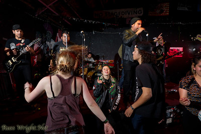 La Infinita performs at 924 Gilman. Feburary 25, 2012. Berkeley, California