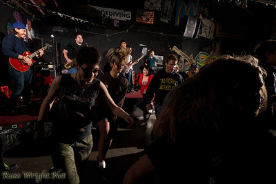 La Noche Oskura performs at 924 Gilman. Feburary 25, 2012. Berkeley, California