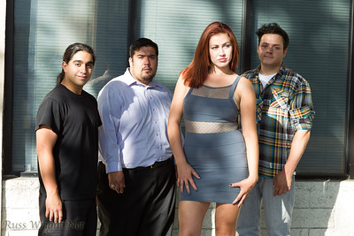 Skyway View: left to right: Luis Anthony Silva (Bass), Ruben Beltran (Guitars), Daniella Bella (Vocals), Jerald Bittle (Drums)