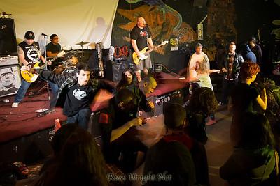 The Moans @ 924 Gilman St, Berkeley, CA. December 2012