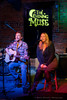 Candace & Chris share a song at the Tosco House Party at the Evening Muse February 1, 2012