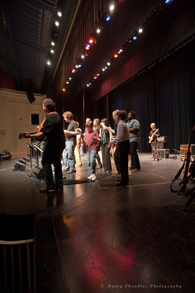 the Tosco Music Party at the CPCC Halton Theatre in Charlotte, NC April 21st, 2012