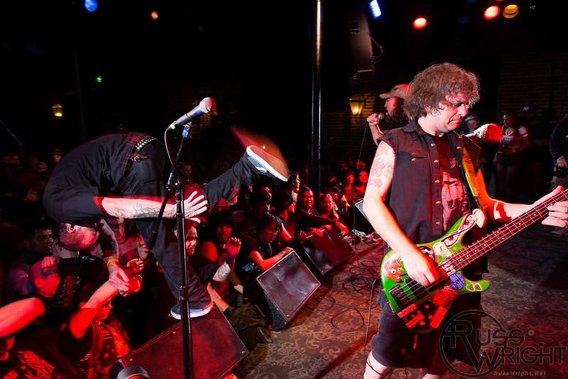 Dirty Rotten Imbeciles (DRI) @ Slims, San Francisco, CA. March 2013
