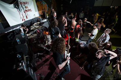 Enemy in Peril @ 924 Gilman St, Berkeley, CA. January 2013
