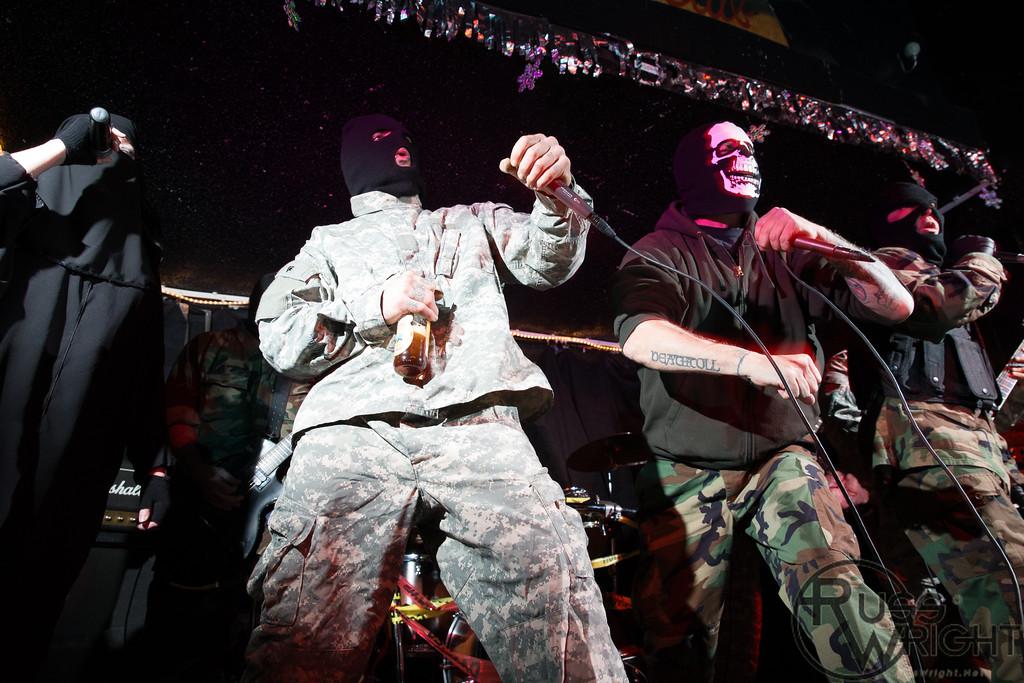 Guantanamo Dogpile @ Eli's Mile High, Oakland, CA. March 2013