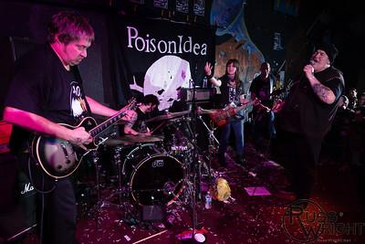 Poison Idea @ 924 Gilman, Berkeley,CA. December 2013