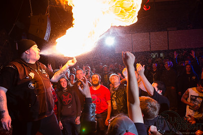 Jerry A of Poison Idea lights up @ 924 Gilman, Berkeley,CA. December 2013