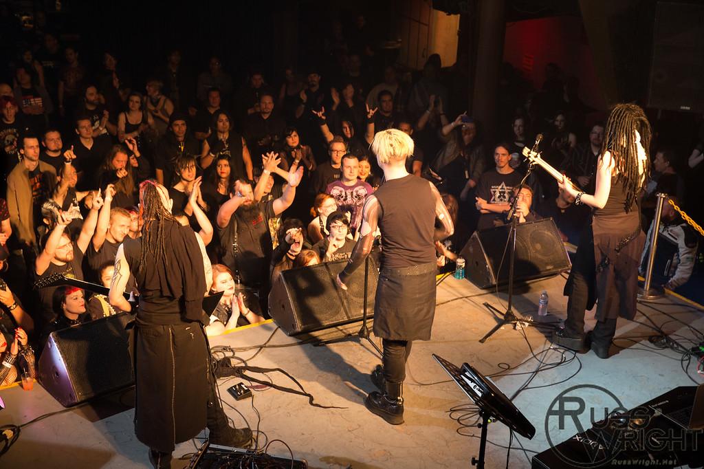 Vile Augury @ DNA Lounge, San Francisco, CA. May 2013
