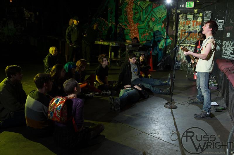 Sashanonymous @ 924 Gilman St, Berkeley, CA. January 2013