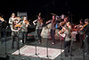 The Piedmont Violin Ensemble performing at the Tosco Music Party in the CPCC Halton Theatre in Charlotte, NC on April 20th, 2013