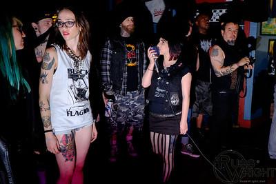Nihilist Cunt at Toot's Tavern. Crockett, CA. May 2014
