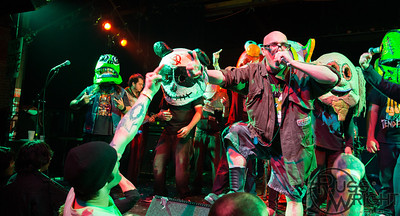 Green Jelly at Oakland Metro Operahouse. Oakland, CA. February 2014