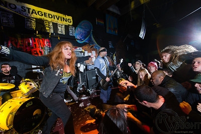 Retching Red at 924 Gilman St, Berkeley, CA. February, 2014