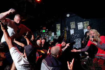 Watch out for the bunny. SNFU at 924 Gilman, Berkeley, CA. May 2014