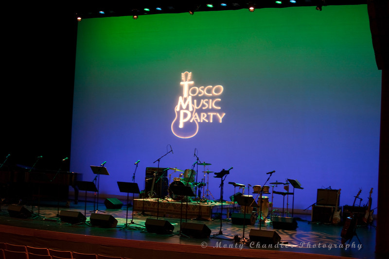 The Tosco Music Party in Charlotte, NC on April 12th, 2014 at the Knight Theater.