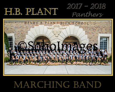 H.B.Plant HS Marching Band 2017-2018