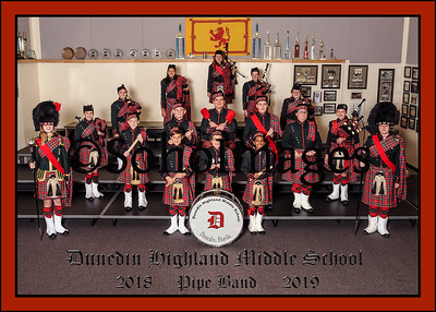 Dunedin Middle School Band Groups 2018