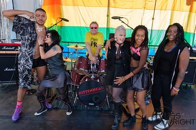 Kittenhead at Oakland Pride. Oakland, CA. 2018