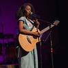Singer-songwriter Arsena performing at the Tosco Music Party at the Knight Theater Feb 3rd, 2018 in Charlotte, NC.