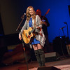 Singer-songwriter Ellie Morgan performing at the Tosco Music Party at the Knight Theater Feb 3rd, 2018 in Charlotte, NC.