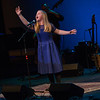12 year old vocalist Sophie Miller performing at the Tosco Music Party at the Knight Theater Feb 3rd, 2018 in Charlotte, NC.