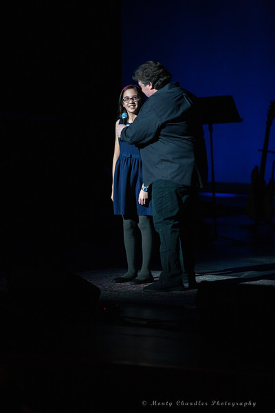 Kelsey Sciacca performing at the Tosco Music Party held February 2nd 2019 at the Knight Theater in Charlotte, NC